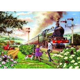 House Of Puzzles Railway Children Jigsaw - 500 Big Pieces