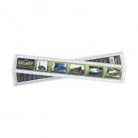 WestAir Railway History Ruler - 30cm