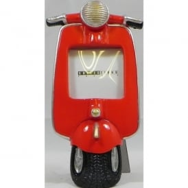Giftworks Red Scooter Small Photo Frame