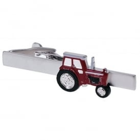 Onyx-Art Red Tractor Tie Bar