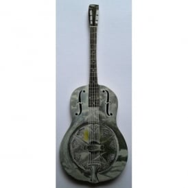 Lark Designs Resonator Guitar Cut Out Fridge Magnet