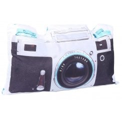 Malini Retro Camera Long Cushion