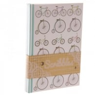 Puckator Retro Cycling A6 Notepad