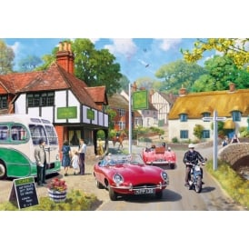 Gibsons Roadside Refreshment Jigsaw (2000 Pieces)