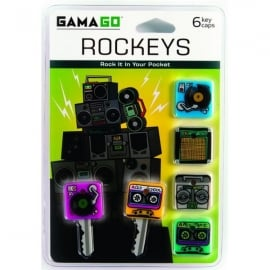Cubic Rockeys Music Key Caps - Pack of 6