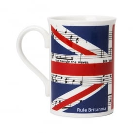 Music Gifts Company Rule Britannia Bone China Mug