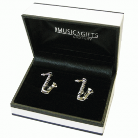 Music Gifts Company Saxophone Cufflinks