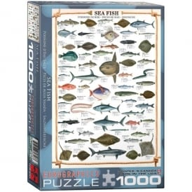 EuroGraphics Sea Fish Jigsaw - 1000 Pieces