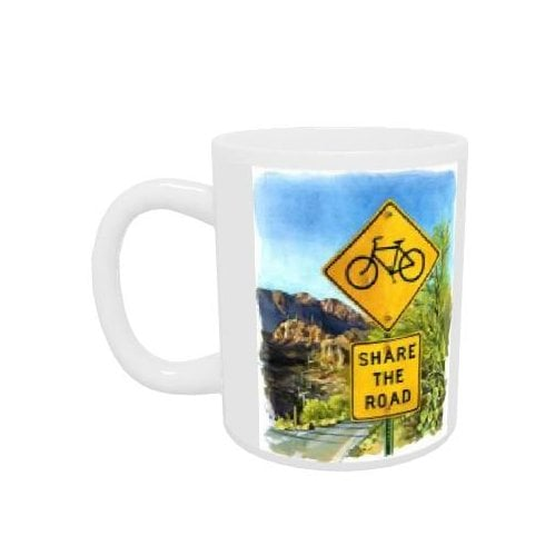 Star Editions Share The Road Boxed Mug