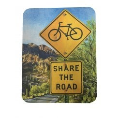 Star Editions Share The Road Cycling Themed Mouse Mat
