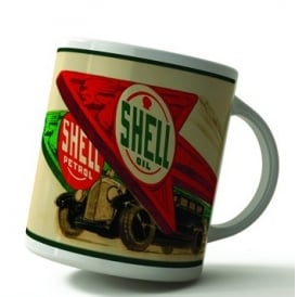 Original Metal Sign Company Shell Arrows Mug
