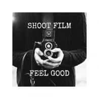 art2glass Shoot Film Feel Good Glass Coaster Single in Box