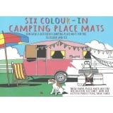 Padblocks Six Colour-In Camping Place Mats