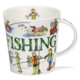 Dunoon Sporting Antics Fishing Cairngorm Mug