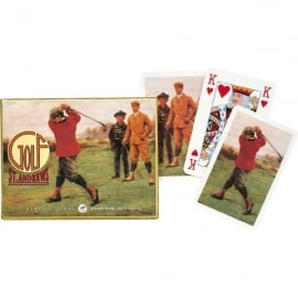 Gibsons St Andrews Golf Playing cards - Twin Pack