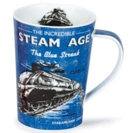 Dunoon Steam Age The Blue Streak Argyll Mug