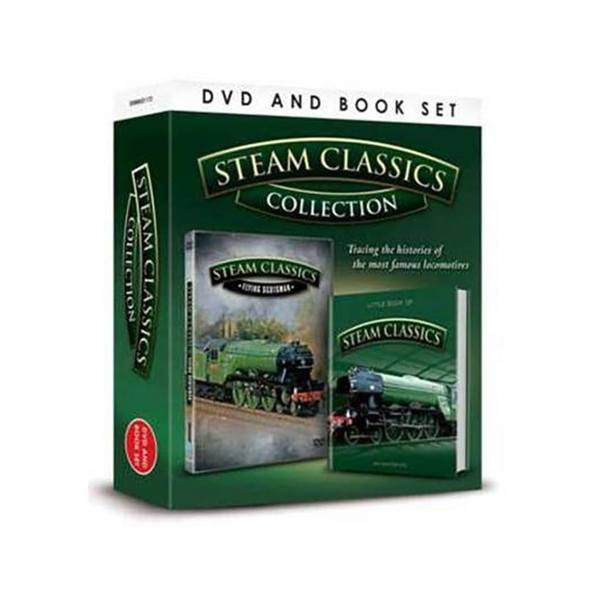 Demand Media Steam Classic DVD & Book Set