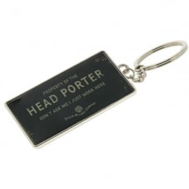 Harvey Makin Steam Railway Keyring - Head Porter