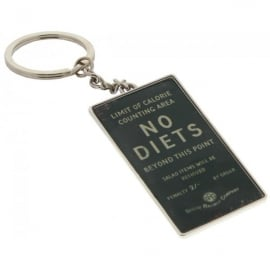 Harvey Makin Steam Railway Keyring - No Dieting