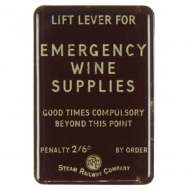 Harvey Makin Steam Railway Magnet Board - Emergency Wine Supplies