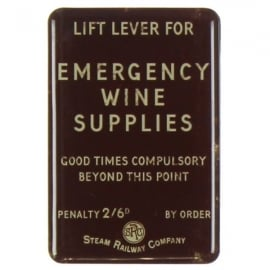 Harvey Makin Steam Railway Magnet  - Emergency Wine Supplies