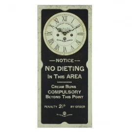 Harvey Makin Steam Railway Wall Clock No Dieting