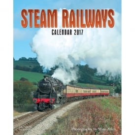 Salmon Art Steam Railways Calendar 2017