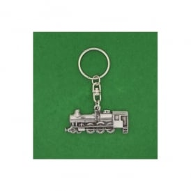 David Hindwood Steam Train Pewter Keyring