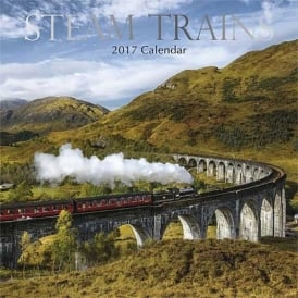 Gifted Stationery Steam Trains Calendar 2017