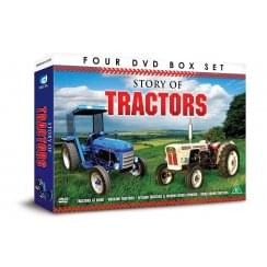 Demand Media Story Of Tractors 4 x DVD Gift Set
