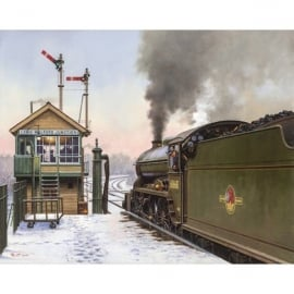 Rothbury Publishing Stour Valley Winter Christmas Cards - Pack of 4