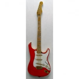 Lark Designs Stratocaster Guitar Cut Out Fridge Magnet