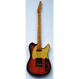 Lark Designs Telecaster Guitar Cut Out Fridge Magnet