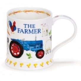 Dunoon The Farmer Iona Fine China Mug