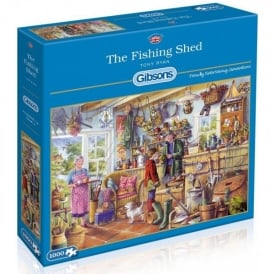 Gibsons The Fishing Shed Jigsaw - 1000 Pieces