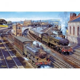 Gibsons The Glory Of Steam Jigsaw - 4 x 500 Pieces