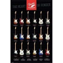 Pyramid The Heart of Fender Stratocaster Maxi Poster