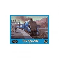Original Metal Sign Company The Mallard Doncaster 1938 Fridge Magnet