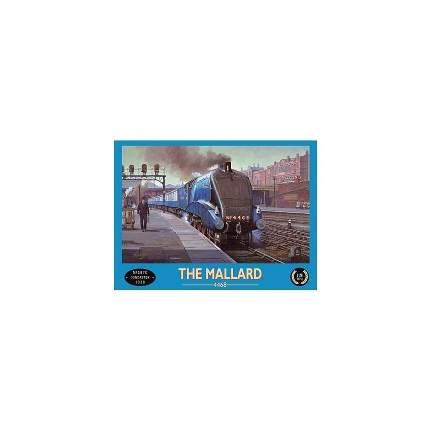 Original Metal Sign Company The Mallard Doncaster 1938 Metal sign