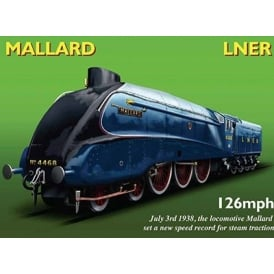 Original Metal Sign Company The Mallard Green Metal sign