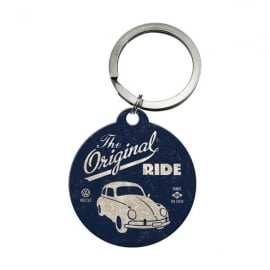 Casa Grande The Original Ride Blue VW Round Keyring