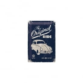 Casa Grande The Original Ride Blue VW Tin Sign