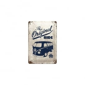 Casa Grande The Original Ride White VW Tin Sign