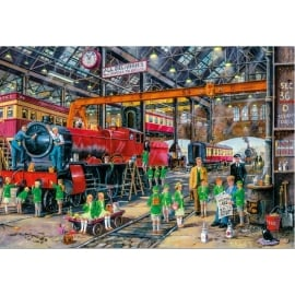 Gibsons The School Outing Jigsaw - 500 Pieces