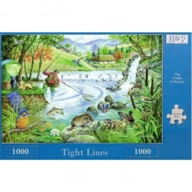 House Of Puzzles Tight Lines Jigsaw - 1000 Pieces