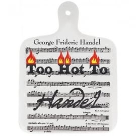 Music Gifts Company Too Hot To Handel Chopping Board