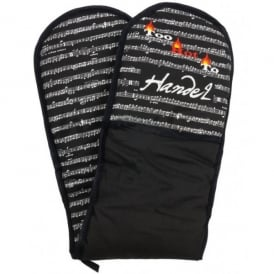 Music Gifts Company Too Hot To Handel Double Oven Gloves