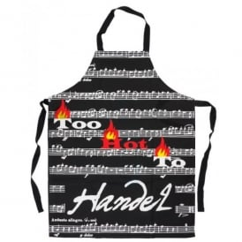 Music Gifts Company Too Hot To Handel Kitchen Apron
