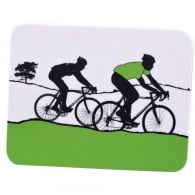 The Art Rooms Tour de France Green Jersey Coaster - Single