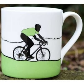 The Art Rooms Tour de France Green Jersey Mug